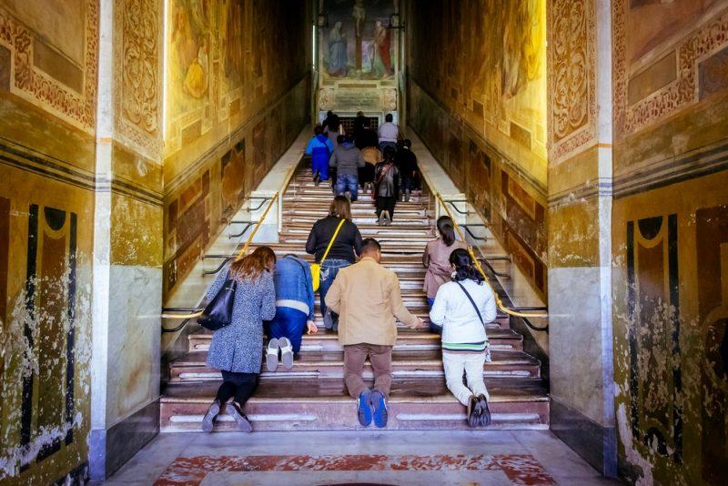 Quartiere San Giovanni Roma Scala Santa