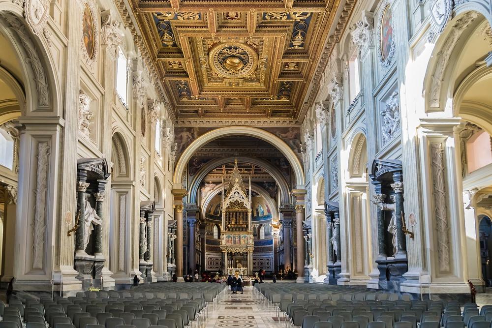 San Giovanni in Laterano curiosità