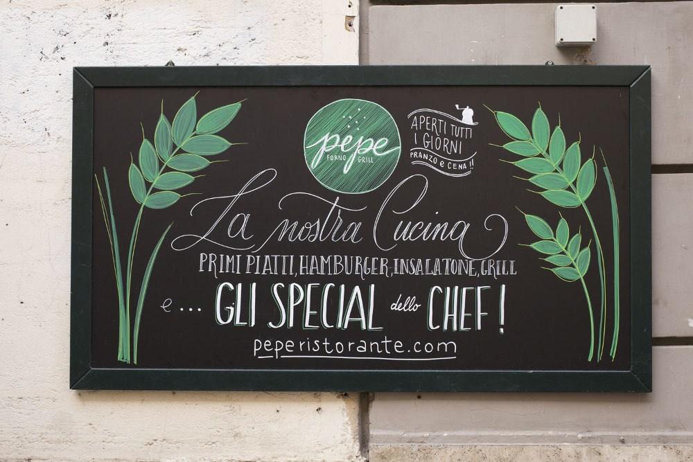 Scopri il nuovo menu: ti aspettiamo da Pepe in via Gallia!